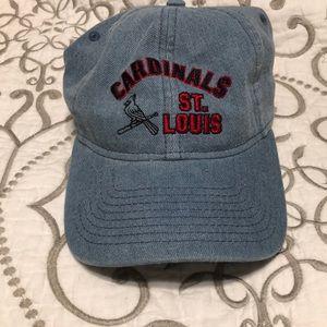 Pink stl cardinals hat